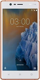 Nokia 3 Dual Sim - 16GB, 2GB RAM, 4G LTE, Copper White
