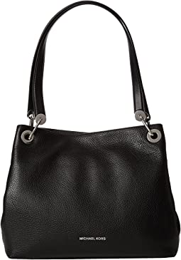 58033296799954 Michael michael kors bedford belted large shoulder black | Shipped ...