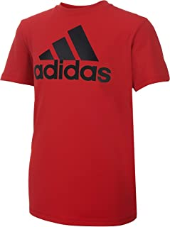 adidas Boys' Stay Dry Moisture-Wicking Aeroready Short Sleeve T-Shirt