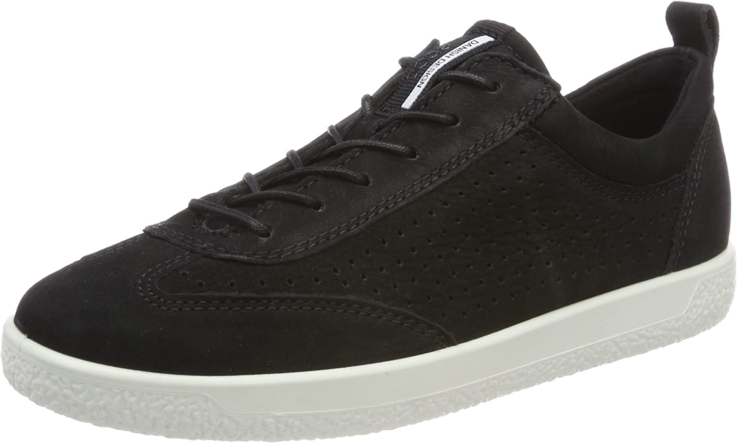 ECCO shoes Women's Soft 1 Lace Perf Fashion Sneakers