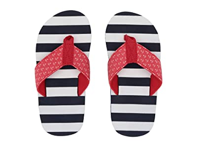 Hatley Kids Limited Edition Flip-Flop (Toddler/Little Kid) (Nautical Stripes) Boy
