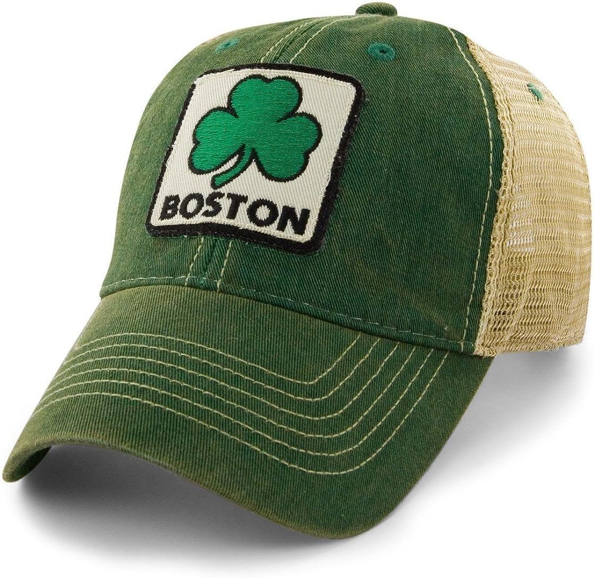 Chowdaheadz Boston Shamrock Patch Dirty - Hat Water Trucker Max San Diego Mall 83% OFF Mesh
