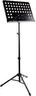 RockJam G905 Height & Angle Adjustable Orchestral Conductor Sheet Stand, Matte Black (Renewed)