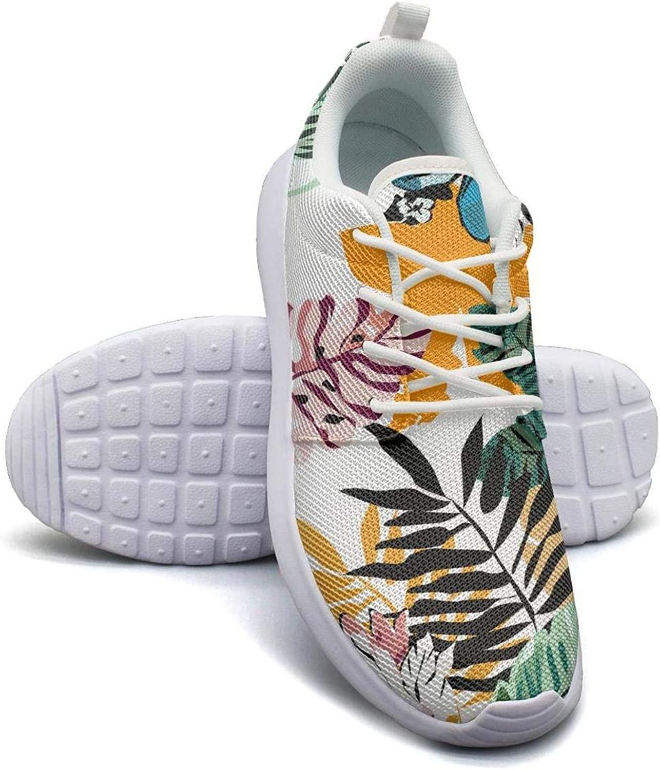 CHALi99 Fashion Woman Lightweight Mesh shoes Wild Summer Tropical Floral Hawaii Sneakers Sport Quick Dry