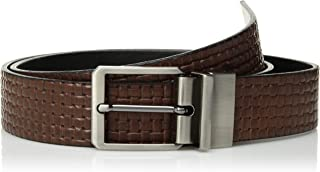 Mens Leather Broad Street Belt