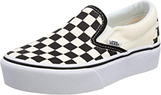 Amazon.com: Women's Black Slip On Vans