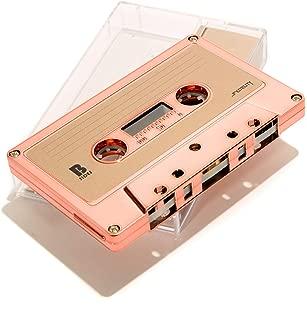FYDELITY Blank Cassette Mixed Tape C-60 Audio 60-Min 10 Pack: Rose Gold Chrome