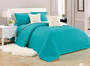Compressed Two-Sided Color 6 Pieces Comforter Set, King Size, Tu-Be,
