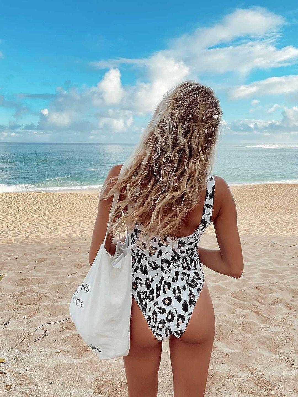 PRETTYGARDEN Women One Piece Swimsuit U Neck Tummy Control Swimwear Slimming Strap Backless Bathing Suit
