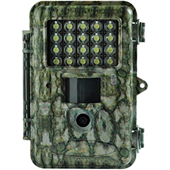 """Boly Trail Camera 18MP 1080P Video with 2"""" LCD and White LED Flash up to 100ft. Detection and Lighting Range Security Cam and an Adjustable Sensitivity Outdoor Wildlife Hunting Camera Waterproof"""