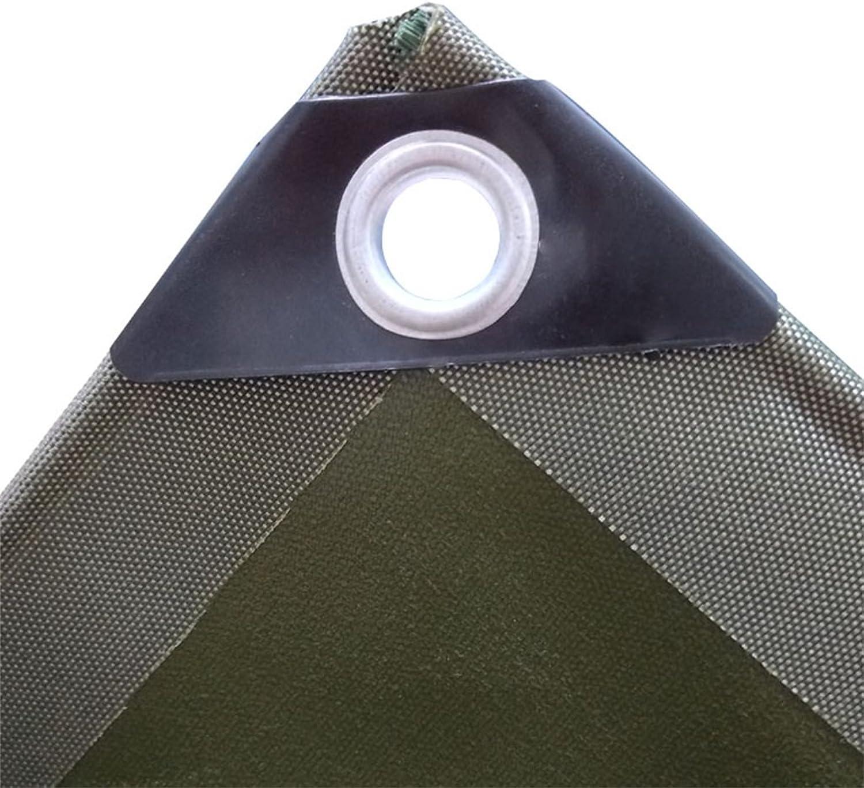 Zelt Zubehör Plane Planen-Segeltuch-leistungsfähiger Planen-Segeltuch-leistungsfähiger Planen-Segeltuch-leistungsfähiger wasserdichter Sonnenschutz benutzt im Poncho-Familien-kampierenden Garten im Freien Regen-Tuch-Schatten-Stoff Linoleum, Grün  Silber, Stärke 0.7mm B07K5QD7C8  Charakteristisch 0d1936