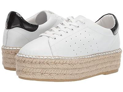 Steve Madden Parade Espadrille Sneaker (White Leather) Women