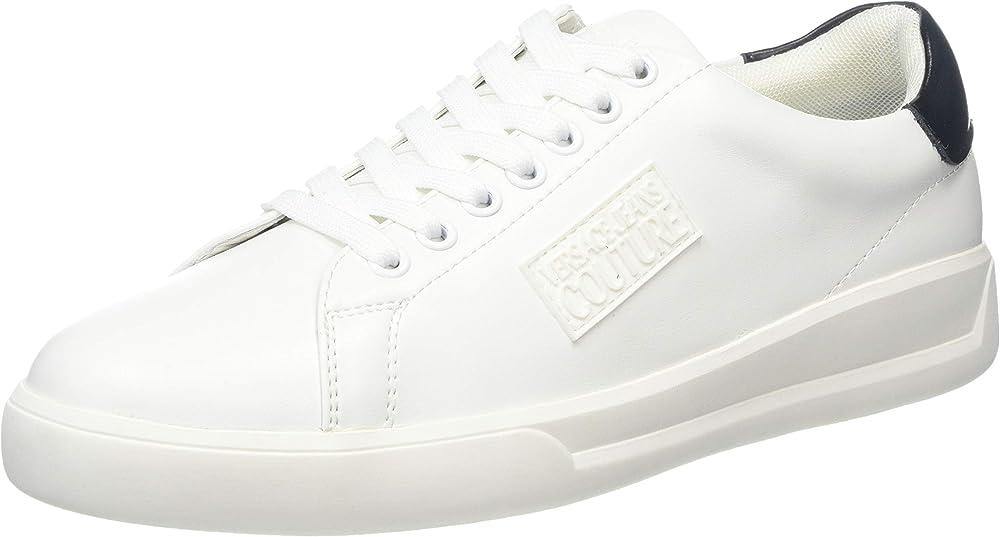Versace jeans sneakers uomo in pelle E0YUBSH271167