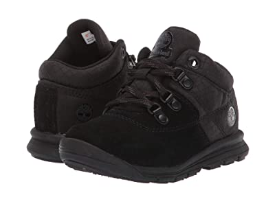 Timberland Kids GT Rally Mid (Toddler/Little Kid) (Black Suede/Fabric) Kids Shoes