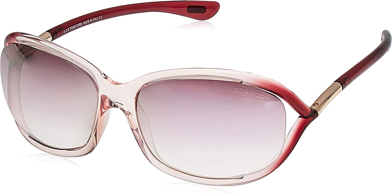 Tom Ford Sonnenbrille Jennifer (FT0008) Rosa Glanz