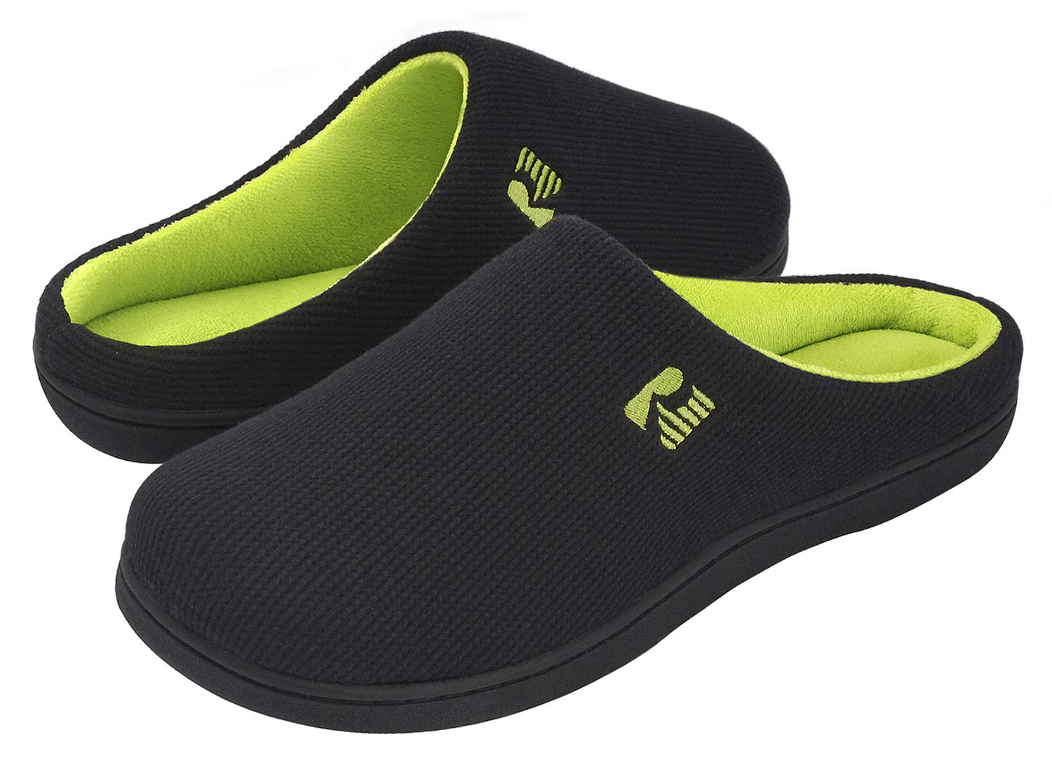 Image of A Best Seller: RockDove Memory Foam Slippers for Men - More Colors Available