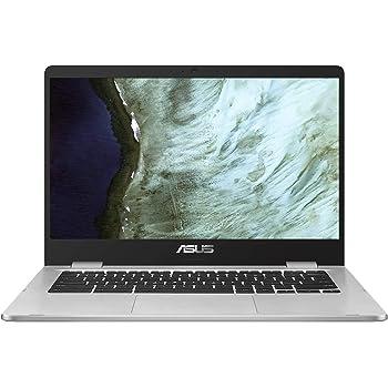 ASUS Chromebook C423NA-EC0102 Ordinateur Portable Tactile 14'' FHD (Intel pentium N4200, RAM 8Go, 64Go EMMC, Chrome OS) Clavier AZERTY Français