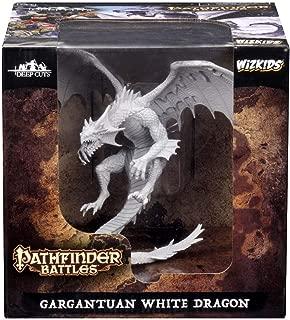 ancient white dragon miniature