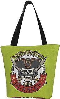 ビジネスバッグ Pirate Pi Dayパイの日314 ジャマイカ レディース 大容量 トートバッグ ハンドバッグ キャンバス B4サキャンバス トートバッグイズ収納可能 レディースメンズ スクールトート スモール 鞄 かばん