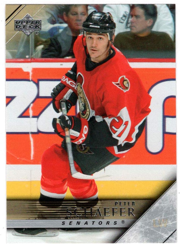 Peter Schaefer - Ottawa Senators Card Hockey Brand Cheap Sale Max 74% OFF Venue Upper Dec 2005-06