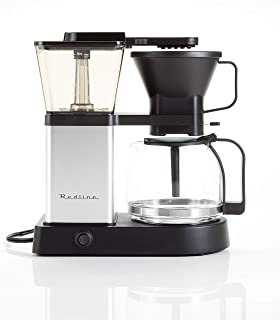 Redline MK1 Coffee Brewer (195-205 Optimum Brew Temperature, Pre-Infusion Mode Included).