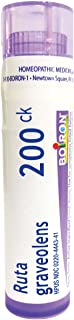 Boiron Ruta Graveolens 200CK, 80 Pellets, Homeopathic Medicines for Eye Strain