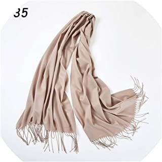 Warm Scarves Women's Plain Color Long Shawl And Wraps Muslim Hijabs Islmic Veil