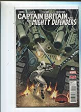 Captain Britain And The Mighty Defenders #2 Near Mint MD6