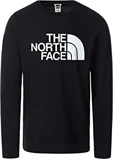 The North Face mens M L/S HALF DOME TEE T-Shirt