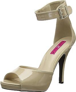 a7f45cfb873120 Pleaser Women s Eve02 cr Platform Dress Sandal