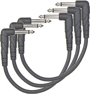 达达里奥 Planet Waves 经典系列 6 寸贴布电缆线(3 根装) PW-CGTP-305