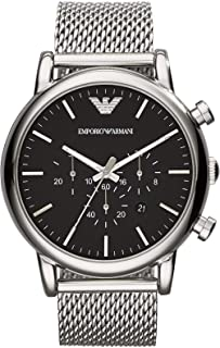 Emporio Armani Men's Luigi Chronograph Dress Watch With Quartz Movement