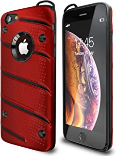 iPhone 6 Case | iPhone 6S Case | Military Grade | 15ft. Drop Tested | Protective Case | Kickstand | Shockproof | Dual Laye...