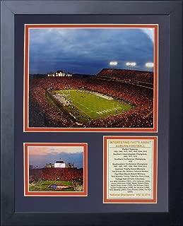 Legends Never Die Auburn University Tigers Jordan-Hare Stadium Framed Photo Collage, 11 by 14-Inch