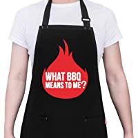ALIPOBO BBQ Grill Apron for Dad