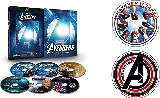 【Amazon.co.jp限定】アベンジャーズ:4ムービー・アッセンブル [ブルーレイ+DVD+デジタルコピー+MovieNEXワールド](オリジナルステッカーセット付き) [Blu-ray]