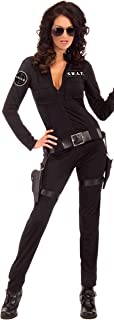 Women's Swat Sexy Woman Of Action Costume