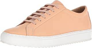 TCG Mens Men's Premium All Leather Lace Up Sneaker Kennedy Low Top