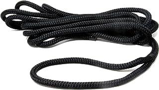 Mareteam Festmacherleine Durchmesser 16 mm mit Auge 6 m lang schwarz