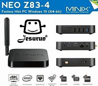 MINIX Z83-4 NEO Z83-4 TV Box Mini PC Intel X5-Z8300(64-bit) Fanless Mini PC Windows 10 Edition Jesurun Company (NEO Z83-4)