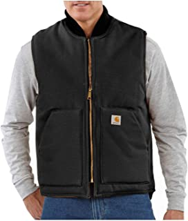 Men's Sandstone Vest Arctic Quilt Lined V01