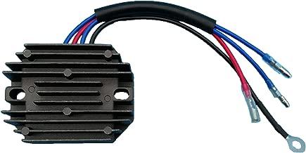 Tuzliufi Replace Voltage Regulator Rectifier Kubota Tractor B4200 B4200D B5100E B5100D B5100D-P B5100E-P B6100D-P B6100E-P B6100HST-D B6100HST-E B7100D B7100D-P B7100HST-D B7100HST-E 15372-64600 Z167