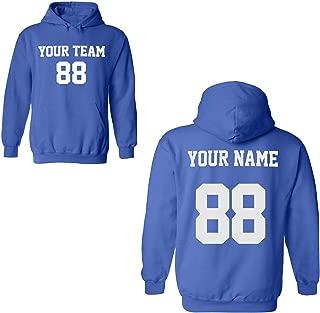Desing Your OWN Hoodie - Custom Jersey Hoodies - Pullover Team Sweatshirts
