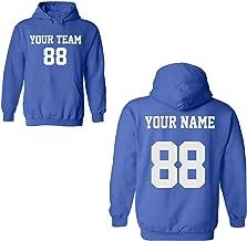 Desing Your OWN Hoodie - 2 Sided Custom Jersey Hoodies Pullover Team Sweatshirts