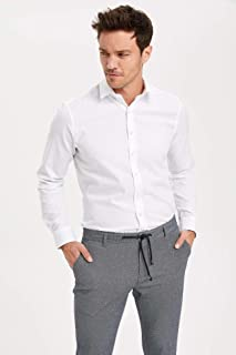 DeFacto Uzun Kollu Slim Fit Gömlek