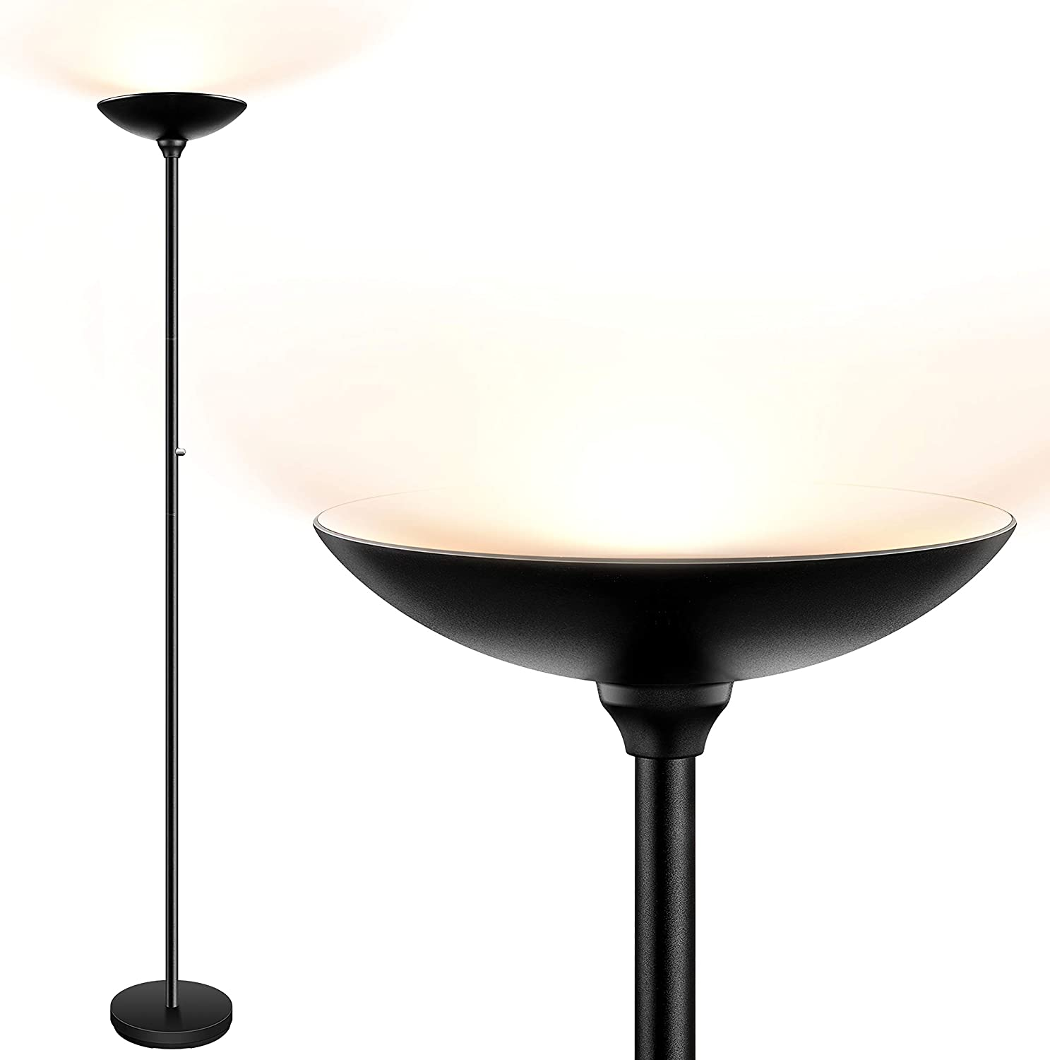 Torchiere Floor Lamp LED lamps 24W Bright OFFer 2400LM safety L Super