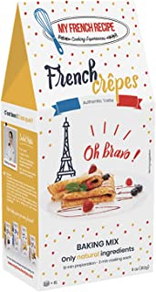 Crepes Mix, Authentic French taste easy to prepare gourmet food (Crêpes Françaises) - My French Recipe