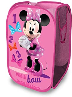 Disney Minnie Mouse Pop Up Hamper, MinnieMouse