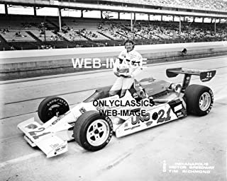 OnlyClassics 1980 Indianapolis Motor Speedway Tim Richmond INDY 500 AUTO Racing Photo -NASCAR