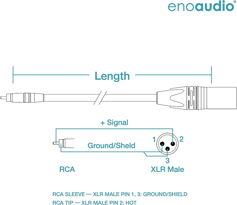 Mogami 2534 Quad Stereo Paar L R Audio Kabel Neutrik Gold Cinch Rca Xlr Male Hifi 2 0 M Musikinstrumente